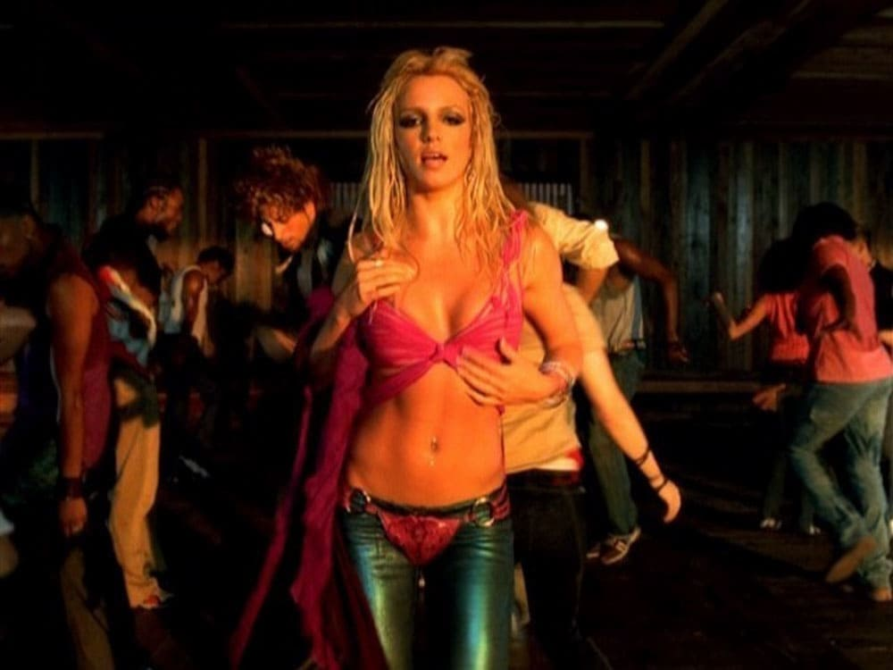 Britney Spears from I'm a Slave 4 U
