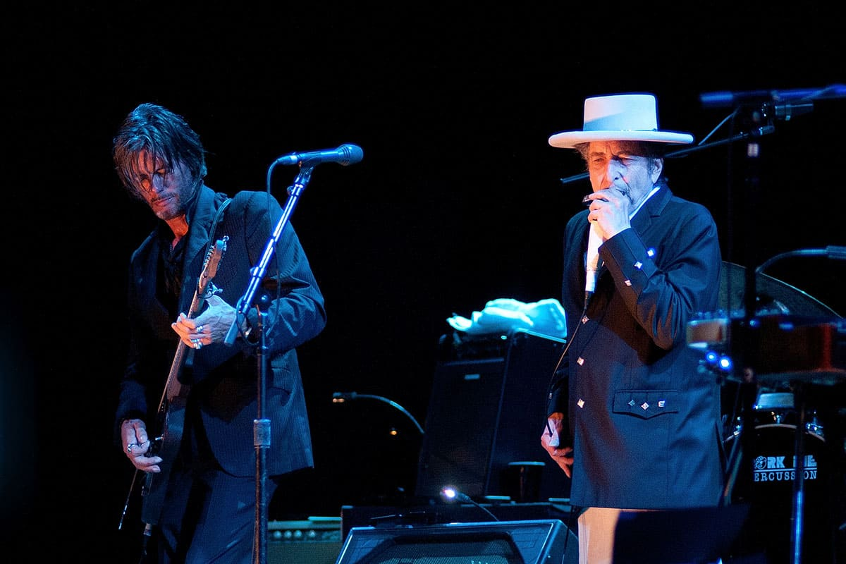 Bob Dylan performs at FIB on July 13, 2012, in Benicassim, Spain. Festival Internacional de Benicassim.