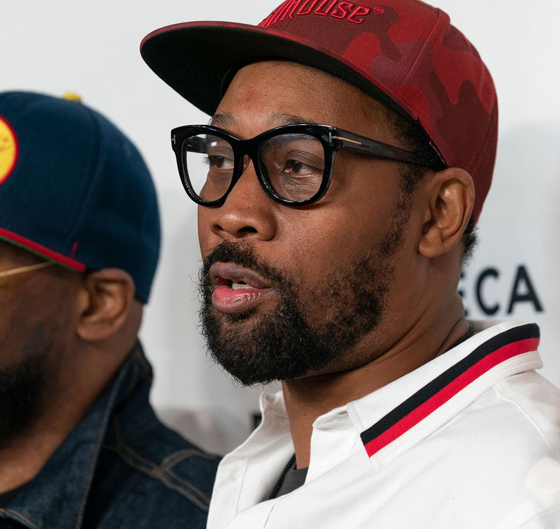 Rza Robert Diggs attends Tribeca TV Wu-Tang Clan: Of Mics And Men at Beacon Theatre