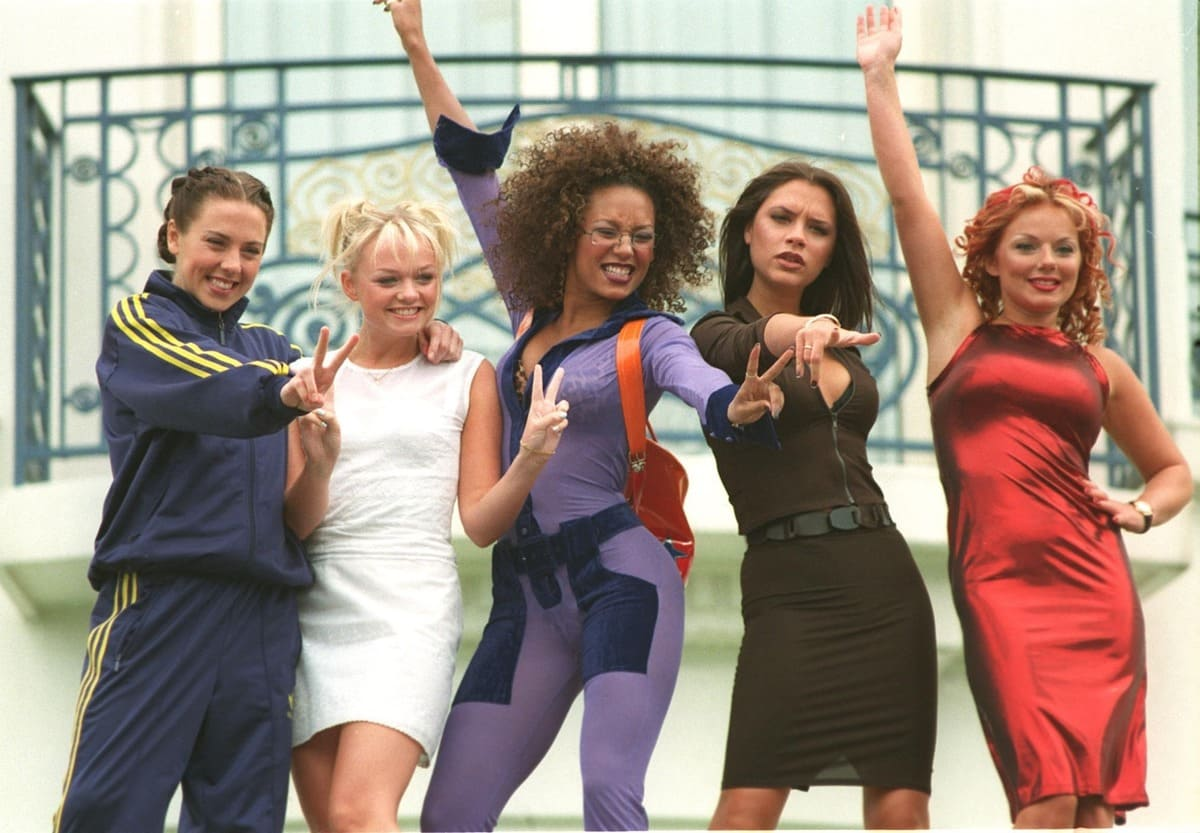 The SPICE GIRLS at the 1997 Cannes Film Festival