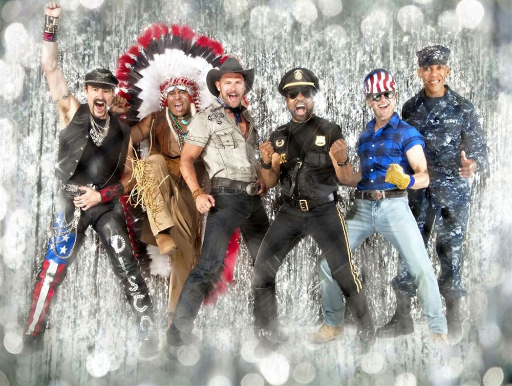 Current members of the Village People.