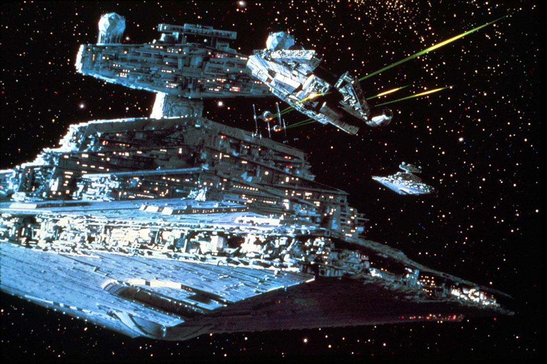 Publicity still of Star Wars Episode V
